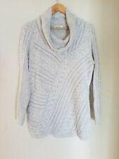 Motherhood Maternity Sweater Long Sleeve Cowl Neck Tunic Sweater Women's Large
