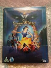 Disney's SnowWhite And The Seven Dwarfs Zavvi Exclusive Steelbook, Opened But...