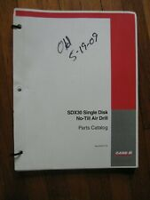 Case Ih Sdx30 No Till Air Drill Parts Catalog Manual