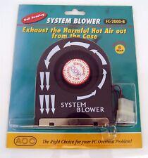Lot of  5X  AOC-Ball-Bearing-System-Blower-Fan-FC-2000-B-NIB