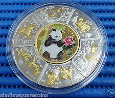 1986 China Silver Commemorative Good Luck Medallion (3 oz of 999 Fine Silver)