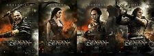 Conan - original DS movie poster 27x40 Advance set of 4