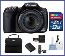 Canon Power Shot SX530 HS Digital Camera 32GB Bundle - Canon Authorized Dealer!!