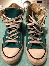 Converse All Star Green Size 3 In Mens Daughter Wore These To School
