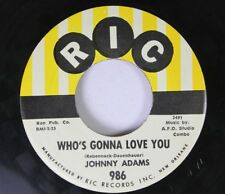 R&B 45 Johnny Adams - Who'S Gonna Love You / A Losing Battle On Ric