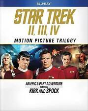 Star Trek: Motion Picture Trilogy Blu-ray. New w sleeve & ships free w tracking