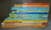 18 miscellaneous SESAME STREET kids books & coloring books big bird grover lot