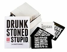 NEW Drunk Stoned or Stupid Party Adult Card Game Drinking Game Fun