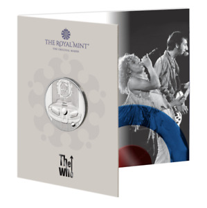 The Who 2021 UK £5 Brilliant Uncirculated Coin