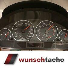 "Tachoscheibe für Tacho BMW E46 Benziner ""Race""  310 Kmh"