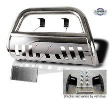 Fits 2004-2014 Nissan Armada Classic Bull Bar Stainless Steel Chrome