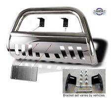 Fits 2010-2017 Nissan Xterra Classic Bull Bar Stainless Steel Chrome