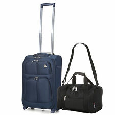Synthetic Luggage Sets with Extra Compartments
