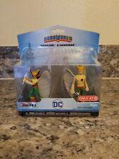 "Lot of 3 FUNKO HERO WORLD DC SERIES1: HAWKGIRL & HAWKMAN 4"""