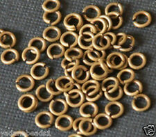200 pcs of Antiqued Brass Jumpring 4mm