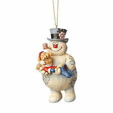 Jim Shore Frosty The Snowman & Karen Ornament New 2017 4058193 Christmas
