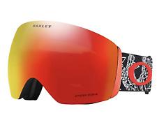 NEW Oakley Flight Deck Goggles-Seth Signature-Craneos Muertos-Prizm Lens!