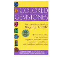 New Colored Gemstones By Antoinette L. Matlins, Jewelry Book