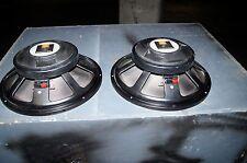 JBL 2220 j 15 woofer professional audio  jbl 2220 woofer 16 ohms set of jbl subs