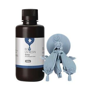 ANYCUBIC 3D Printer Resin, LCD UV 405nm Plant-Based Rapid Resin, Low Odor, Bi...
