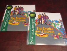 BEATLES YELLOW SUBMARINE NOTHING IS REAL OBI JAPAN 2003 LP PLAY 1 COLLECT 1 SET