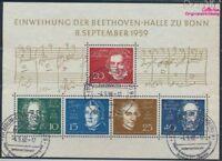 BRD Block2 gestempelt 1959 Beethoven (8609969