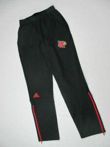 Adidas NCAA Louisville Cardinals Woven Pants Black/Red CZ7723