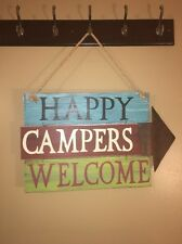 Camping Sign For Home Or Campsite