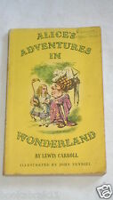 Alice's Adventures in Wonderland:  by Lewis Carrol...1ST EDITION PUFFIN 1946 PB