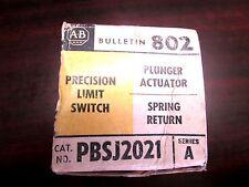 Allen Bradley Precision Limit Switch Pbsj2021 Series A
