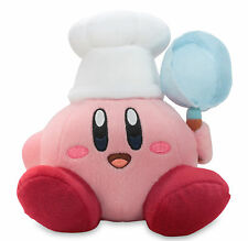 "Official Cook Kirby 7"" Stuffed Plush Toy - Nintendo USA Super Mario Little Buddy"