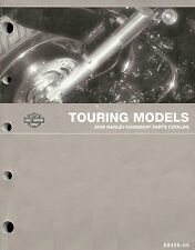 2006 HARLEY-DAVIDSON TOURING MODELS PARTS CATALOG MANUAL-FLHTCU-FLTRI-FLHRC-FLHR