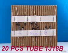 20 PCS 1J18B / 1Ж18Б / RUSIAN MINIATURE TUBE HF PENTODE  MILITARY