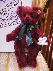 "PRECIOUS RARE14"" TALL Ollalliebeary MOHAIR Bear Annette Funicello 336/2500 COA"