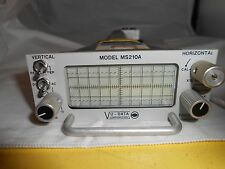 MS210A  VU-Data Oscilloscope   PLUG IN UNIT NEW OLD STOCK