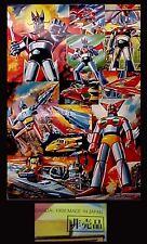 "Vintage Mazinger Z Getter Robo 24"" Poster Popy Bandai"