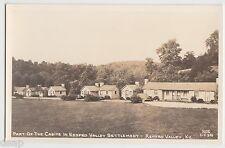 c1940s Renfro Valley Kentucky Ky Rppc Real Photo Postcard Cabin Area Settlement