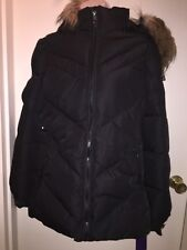 da5a9117ea220 MADDEN GIRL Juniors  Quilted Puffer Jacket BLACK Size M NEW Tags Warm  Outerwear