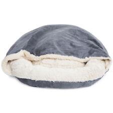 Fur Donut Cuddler Pet Calming Bed Dog Beds Soft Warmer Medium Small Dogs Cats