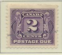 Canada Stamp Scott #J2, Used