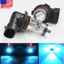 2x 9006 HB4 100W 2323 LED 8000K Iceberg Blue Projector Fog Driving Light Bulbs