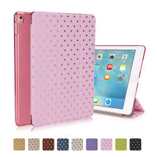 Slim Magnetic Smart Case Crystal PC Hard Back Cover For iPad 2 3 4 Mini Air Pro