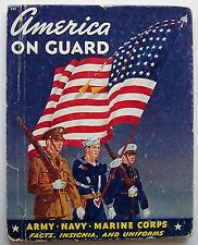 U.S. ARMY INSIGNIA AND DECORATIONS Petersen and AMERICA ON GUARD Penfield HC - J