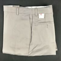 New RED KAP INDUSTRIES Size 52, Unfinished, Taupe Brown Work Uniform Pants