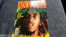 REVISTA MAGAZINE ROCK & FOLK 305 BOB MARLEY PINK FLOYD JOAN JETT