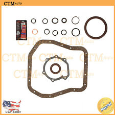 Oil Gasket Conversion Set Repair Kit For 00-03 Subaru 2.5L H4 Engine Code EJ25
