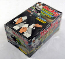 1990-91 Panini NHL Hockey Sticker Box (100 Packs per Box)