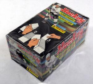 1990-91 Panini NHL Hockey Sticker Box (100 Packs per Box)