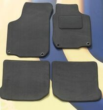 VW GOLF MK5 2004 - 2009 GREY QUALITY CARPET CAR MATS WITH 4 OVAL CLIPS B