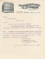 U.S. The Johnston & Larimer Dry Goods Co. Wichita 1902 Illust. Invoice Ref 44108